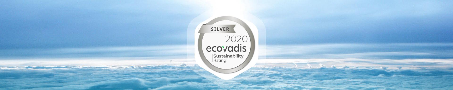Blue note systems obtient la médaille argent Ecovadis pour sa performance RSE