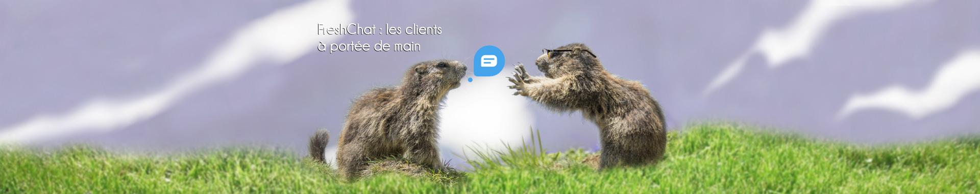 Freshchat, les clients à portée de main