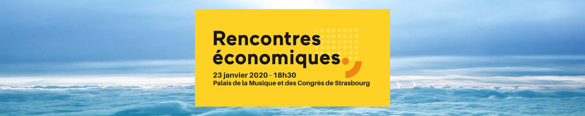 Rencontres économiques annuel de l'Eurométropole de Strasbourg 2020