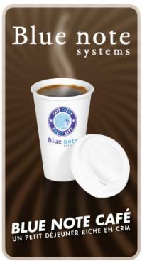 Blue note café CRM