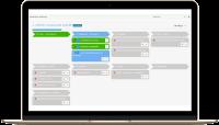 Customer journey - Carte graphique de suivi du parcours client