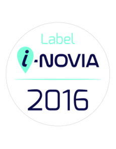 Label i-novia 2016 Blue note systems récompensé