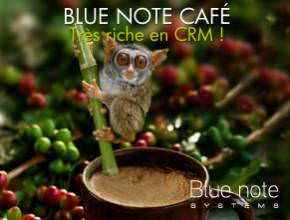 Blue note café CRM à Paris 8 janvier 2019