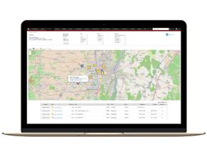 CRM et Géolocalisation : planification tournées et itinéraires - aperçu