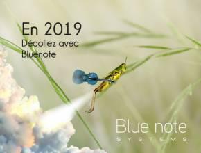Blue note systems vous souhaite de bonnes fêtes et une heureuse année 2019 !