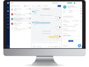 Freshchat logiciel de messagerie moderne, aperçu
