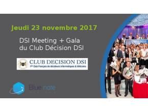Blue note systems au meeting de fin d'année des DSI 2017 - Jeudi 23 novembre 2017