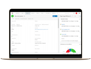 Extension SugarCRM pour Zendesk by Blue note systems