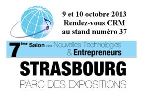 Salon nouvelles technologies Strasbourg 2013 rendez-vous CRM