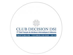 Blue note systems membre partenaire technologique du Club décision DSI 2019