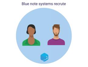Blue note systems recrute un développeur, chef de projet CRM