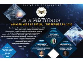 Blue note systems aux universités 2019 du club décision DSI