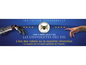 Blue note systems aux universités des DSI le 8 mars 2018